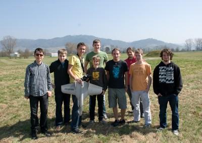 Funjet-Zusammenbau-Testflug