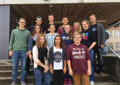 Stufensprecher und Abgesandte in die Schulkonferenz 2014/15