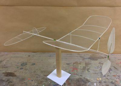Saalflugmodell 1
