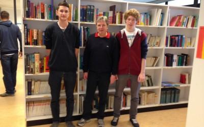Schillerschüler entwickeln Bibliothekssystem