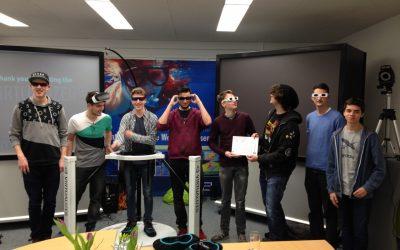 Schiller-Schüler beim Imsimity Future-Talents-Meeting