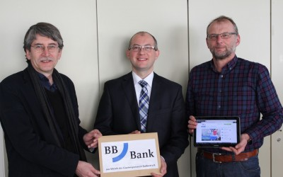 3000 EUR Spende der Badischen Beamtenbank