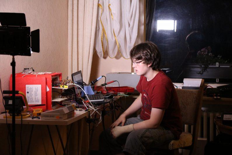 Jonas kann Clubmate in Python-Code verwandeln!