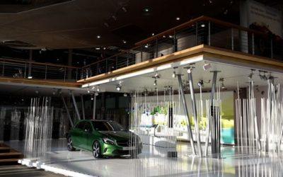 Betriebsbesichtigungen bei Mercedes Benz und EnBW