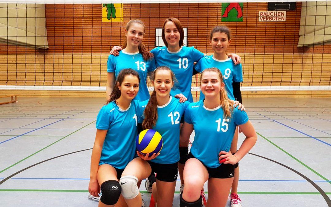 Sensationeller Erfolg für die Schiller-Volleyballerinnen!