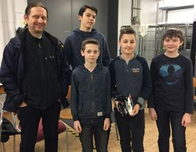 "Das ""first-lego-league""-Projekt ""Animal Allies"""