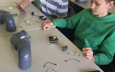 Klasse 8c erstellt Offenburger Feinstaubsensornetzwerk