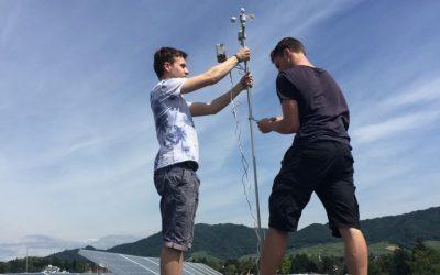 Wetterstation und Schillerturmkamera reloaded