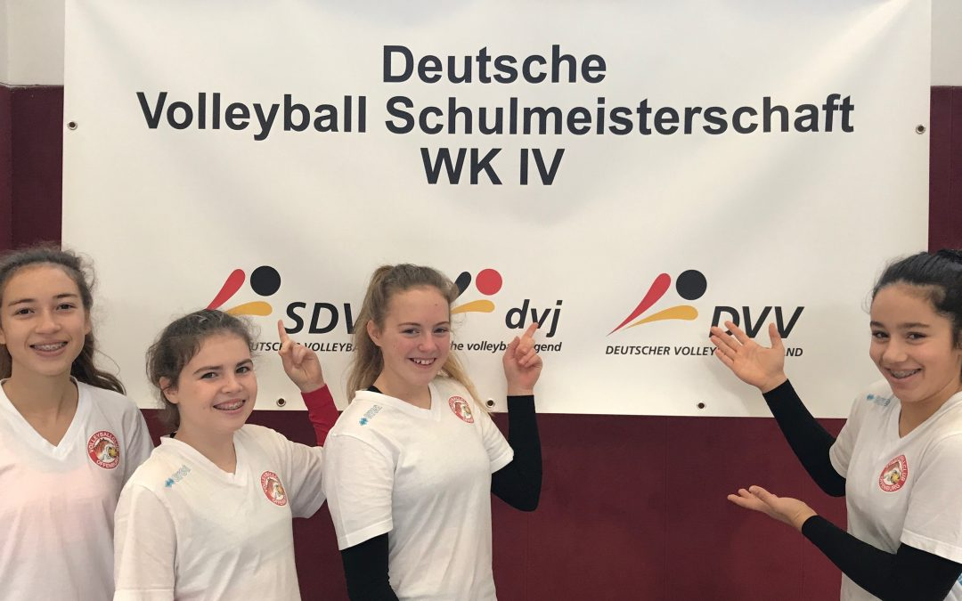 Deutsche Schulmeisterschaft WK IV 2017 in Bad Blankenburg, 20.-23.11.2017