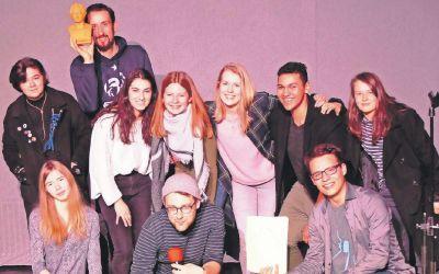 "Poetry-Slam im Rahmen des Festivals ""Fit fürs Abi in 5 Tagen"""