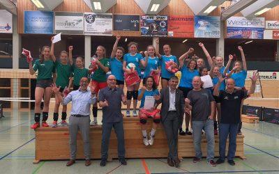 JtfO Volleyball: WK4 Mädchen Landessieger 2018