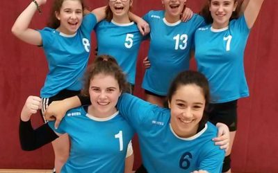 Schiller-Volleyballerinnen in der deutschen Spitze