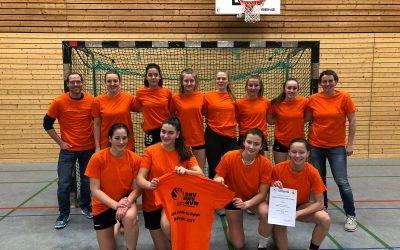 """""""Three in a row"""": Erneuter Landesfinal-Einzug für die Handball-Mädchen der WK2"""