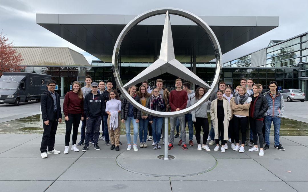 Exkursion zu Daimler nach Stuttgart
