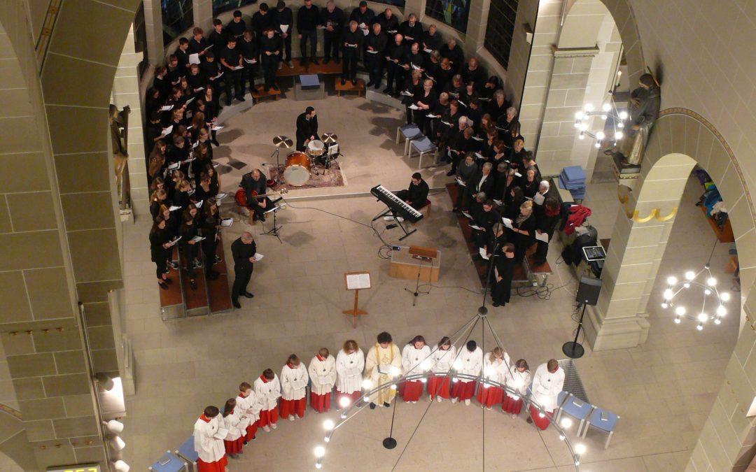 Gospel-Messe von Robert Ray zum Kirchweihfest in Hl. Dreifaltigkeit