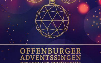 Offenburger Adventssingen am 14.12.19 um 16.00 Uhr