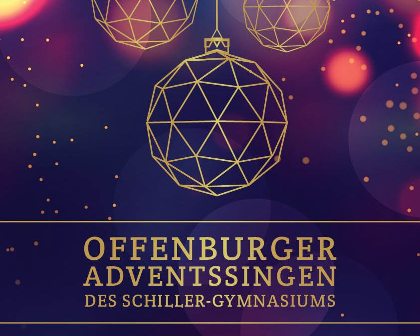 Offenburger Adventssingen am 14.12.19 um 16.00 Uhr