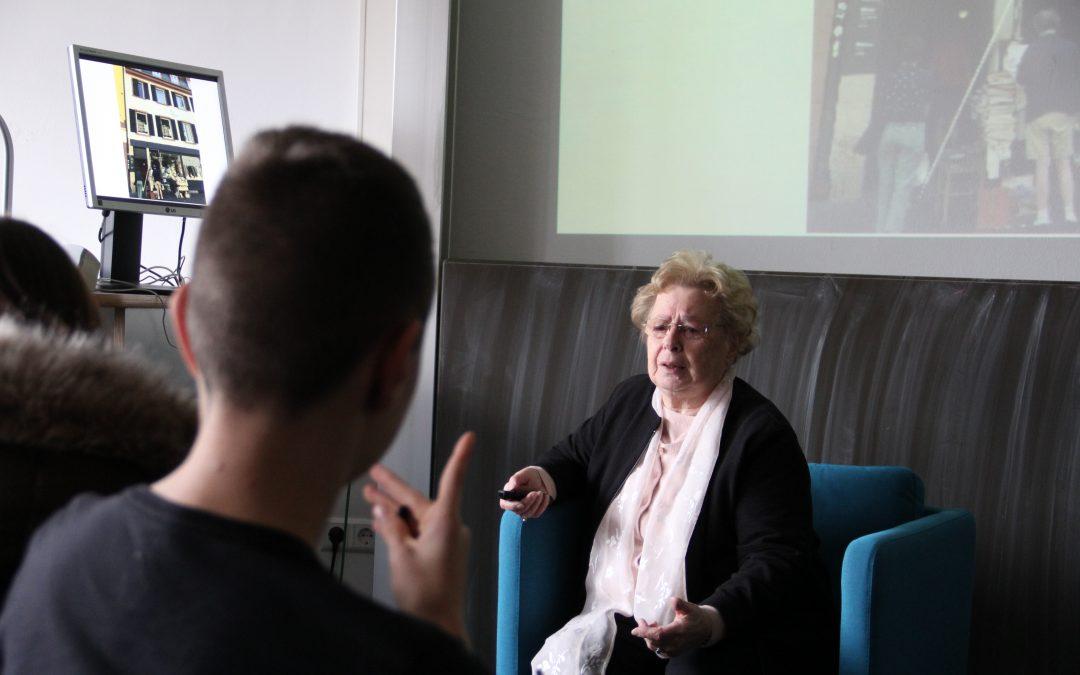 Eva Mendelsson spricht über ihre Familie
