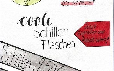 Vorverkauf: Schiller Trinkflasche